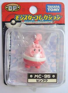 Happiny Pokemon figure Tomy Monster Collection MC series