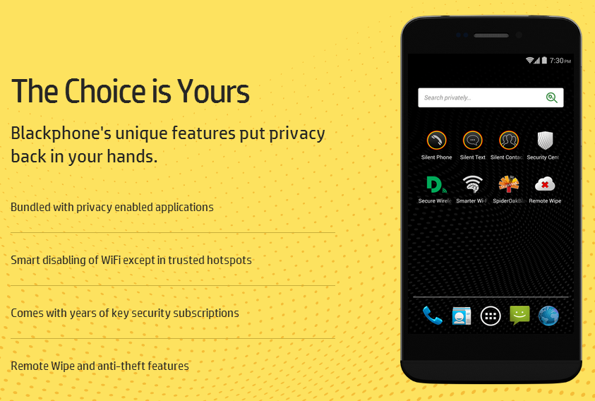 Blackphone Launches Privacy Enabled Smartphones
