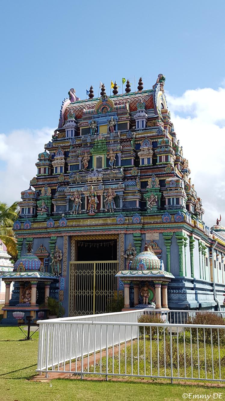 Hindu Temple in Sainte-André ~ Réunion by ©Emmy DE