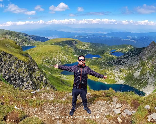 Néstor Suárez 7 Lagos de Rila Bulgaria