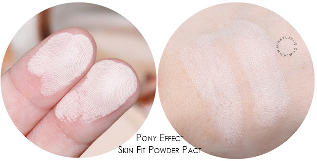 PONY EFFECT SKIN FIT POWDER PACT REVIEW
