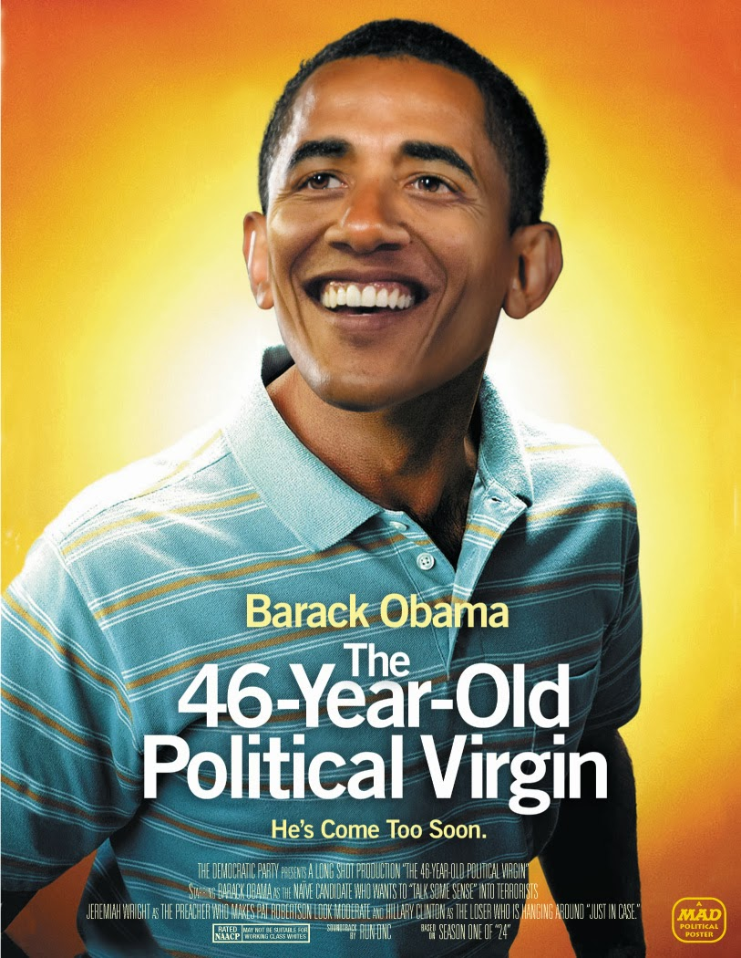 Funny Obama Spoof Movies - 46 year old political Virgin