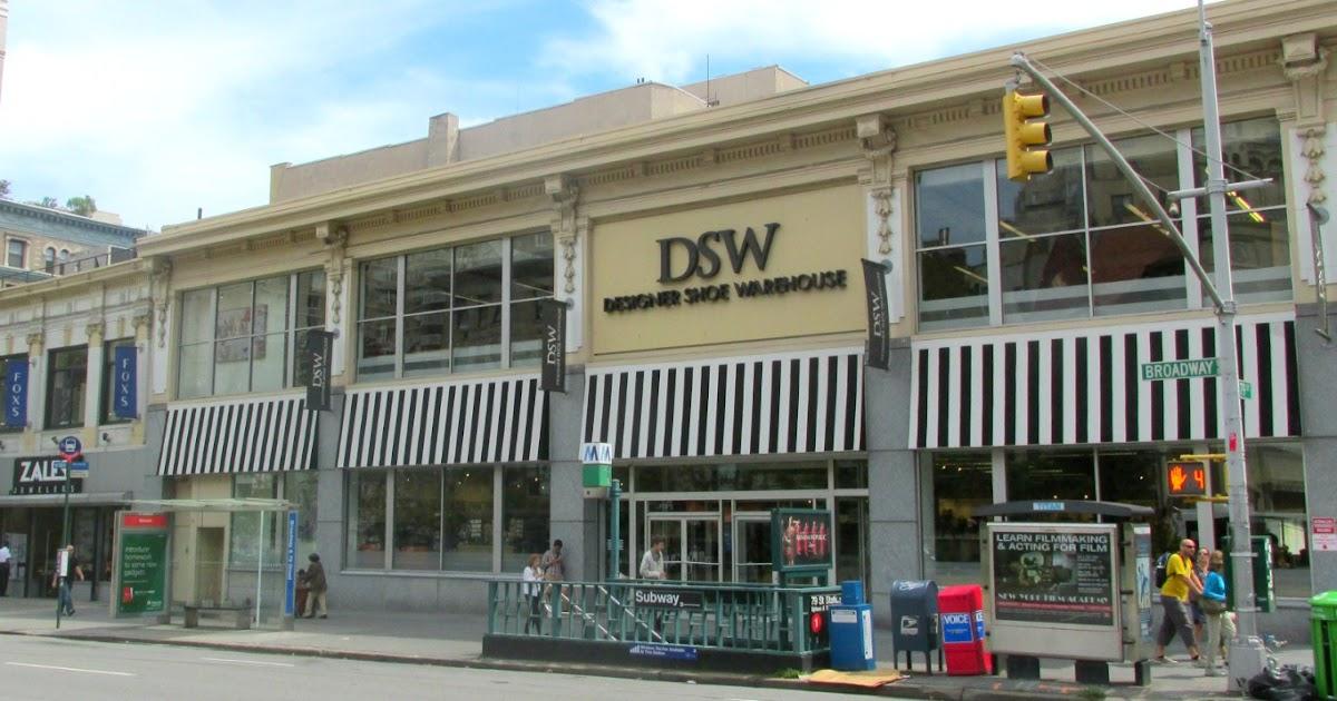 Midtown Manhattan Shoe Stores