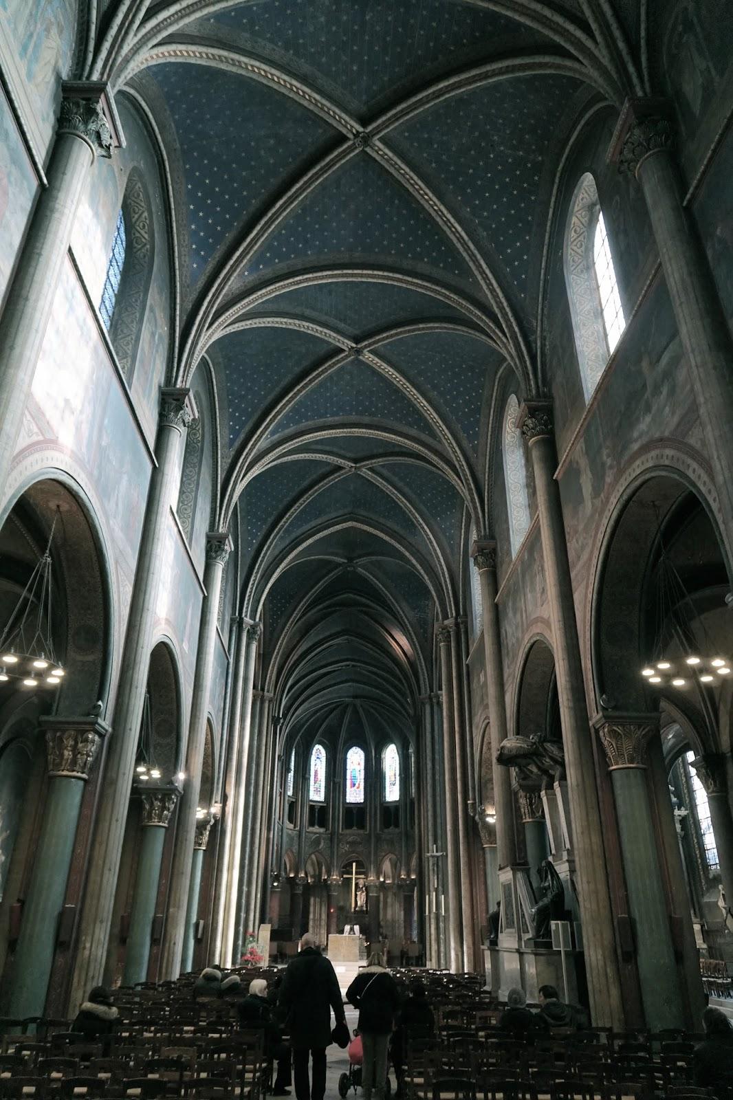 サン=ジェルマン=デ=プレ教会(église Saint-Germain des Prés)