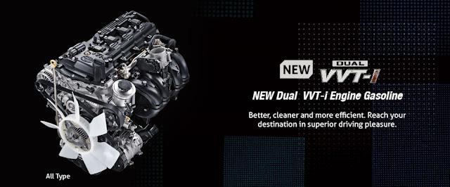 Innova 2016 nâng cấp về động cơ cùng với chế độ lái giúp xe tiết kiệm nhiên liệu hơn mẫu cũ