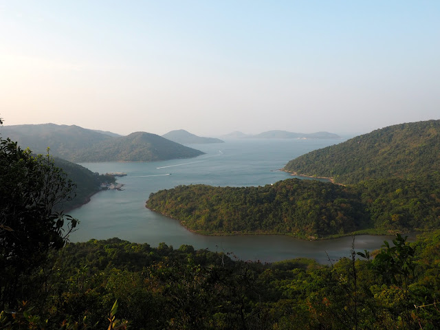 Coastal landscape views near Pak Tam Au, on the trail from Tai Long Wan, Hong Kong