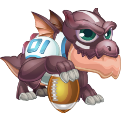 Touchdown Dragon (Baby)