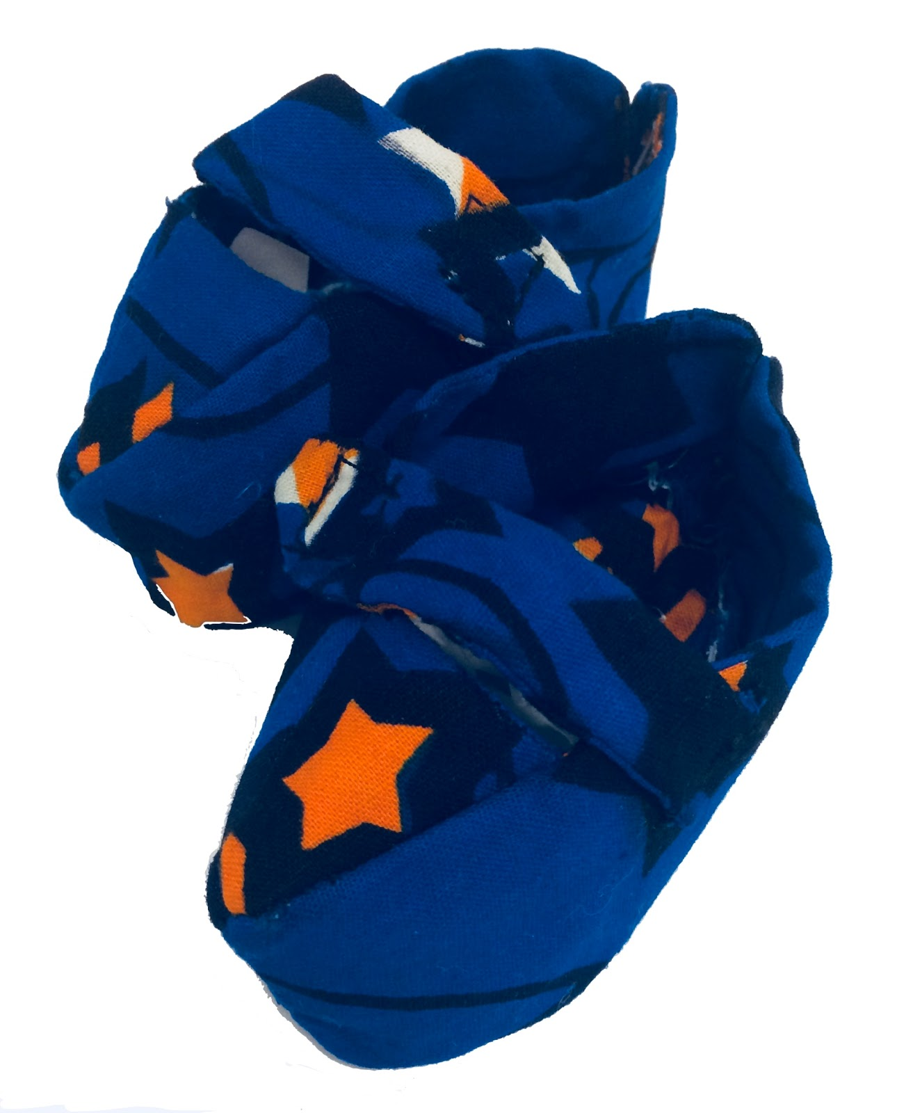 Dwe Blue star Booties