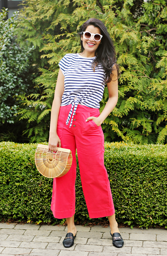 How To Get A Nautical Look, J.Crew Wide Legged Cropped Chinos, Red Wide Leg Pants, Target Kona Mules, Gucci Princetown Dupes, Gucci Loafer Mules Dupes, Style Delights Blog