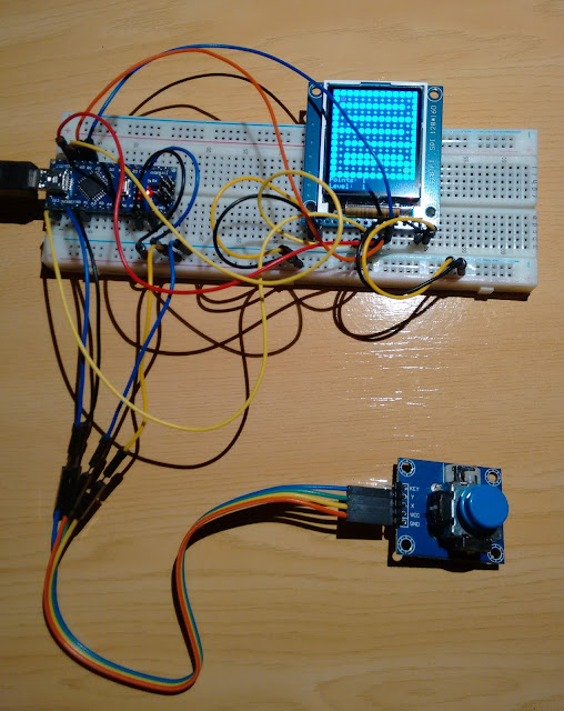 The JBF Project: Arduino Console