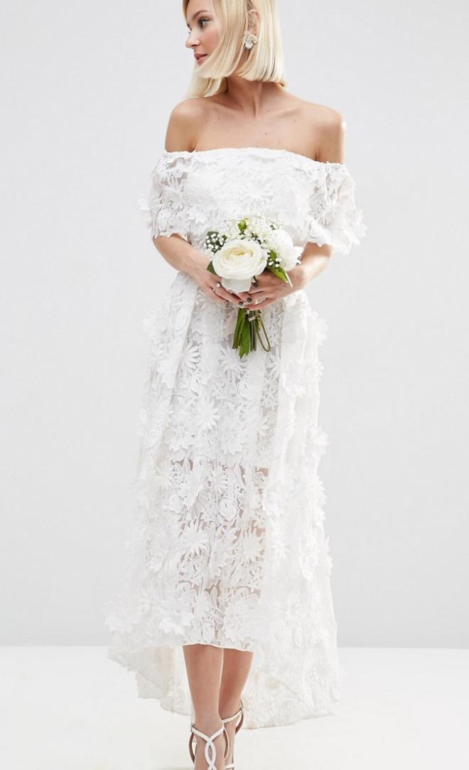 Asos Wedding High Street Wedding Dresses