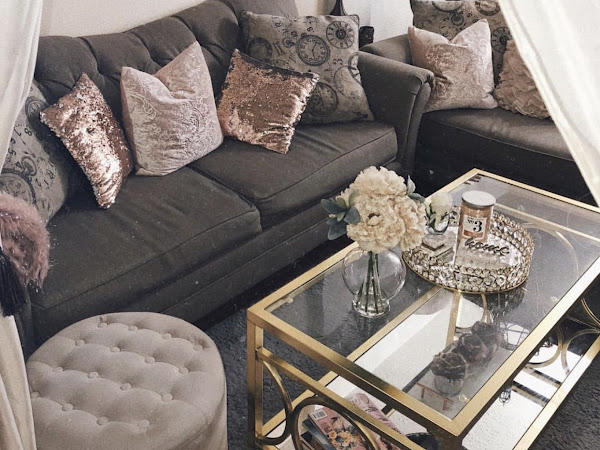 5 GLAM HOME DECOR TIPS