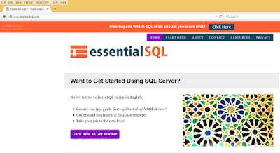 Good website to learn SQL online