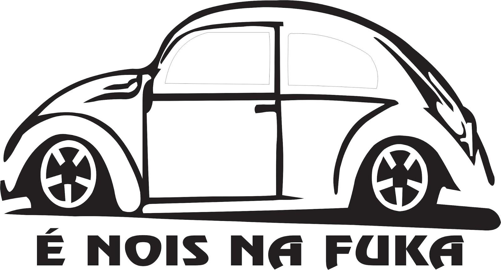 Desenho De Fusca: Vetor CDR Free: Fusca