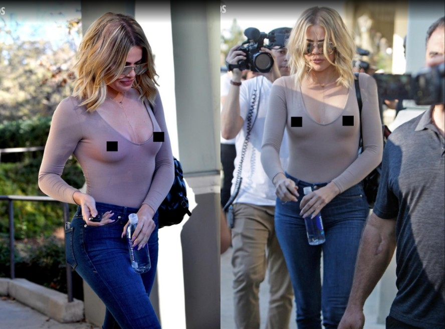 50 Times Celebs Went Braless - Stars who go braless 1