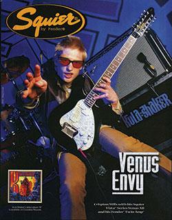Lịch sử ra đời của đàn guitar Squier-Fender