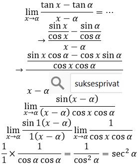 limit tan per x