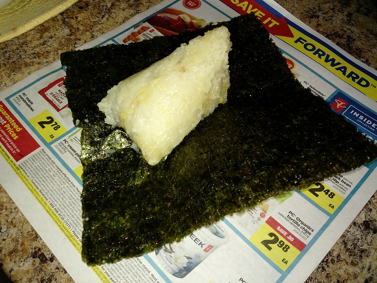 Fongpay S Universe Sticky Rice Wrapped With Seaweed Paper
