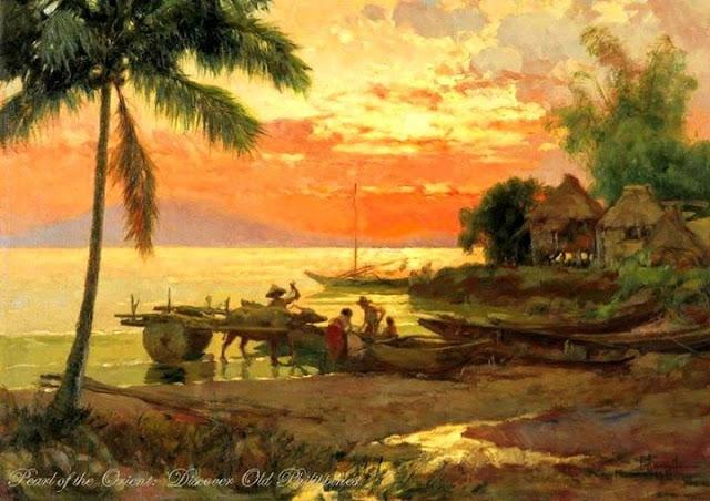 Fernando Amorsolo - Seascape