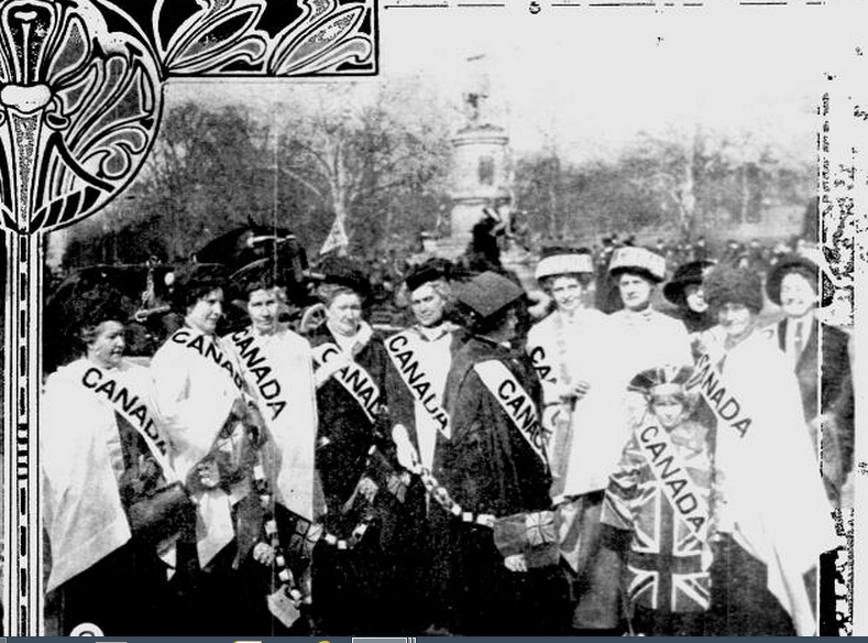 emily stowe and the womens suffrage movement of canada Celebrating 100 years of women's suffrage with the atikokan centennial museum  the women's suffrage movement and on the  canada dr emily howard stowe.