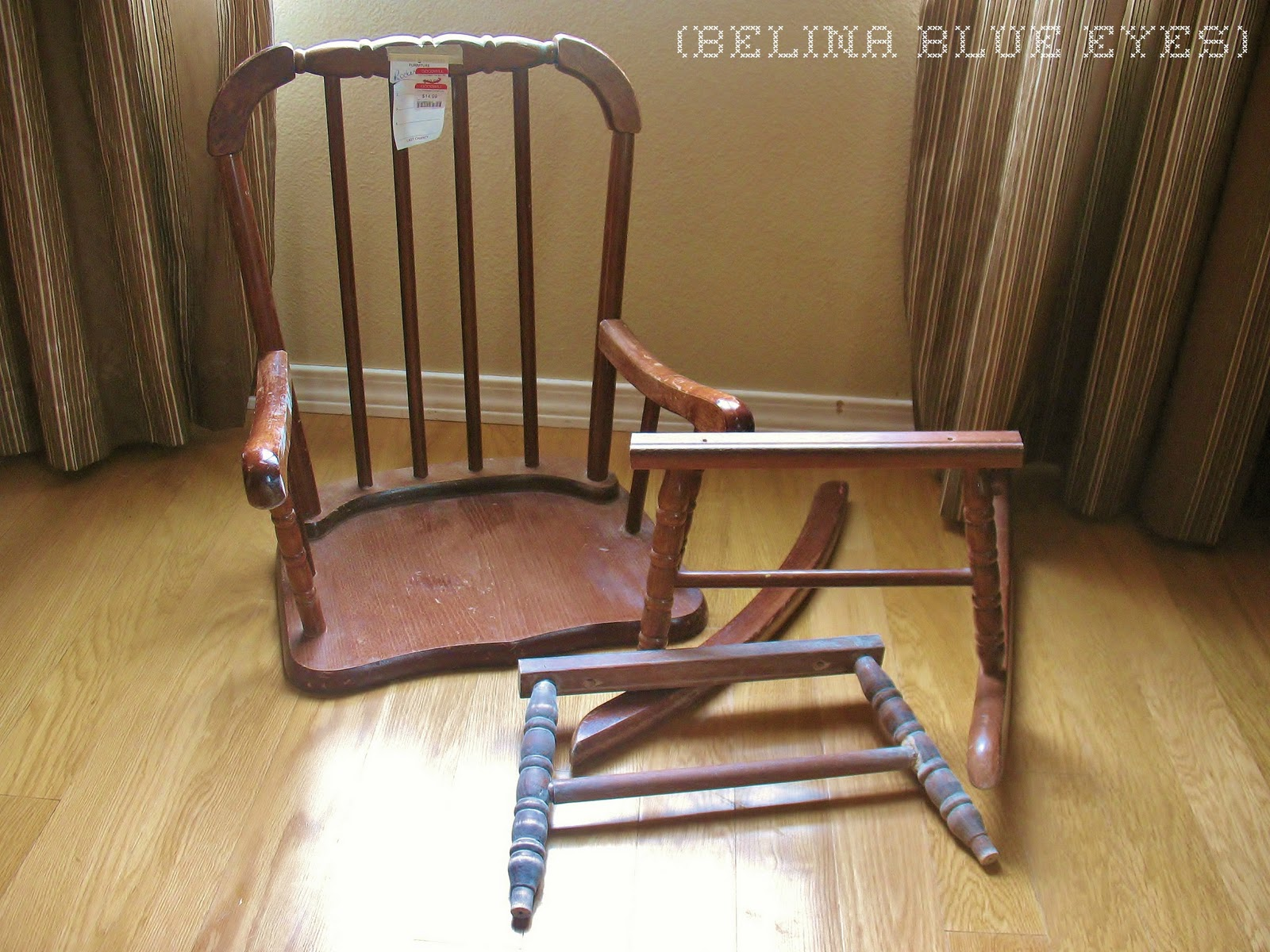 Rockin Chair Belina Blue Eyes Rockin 39 Chair Redo