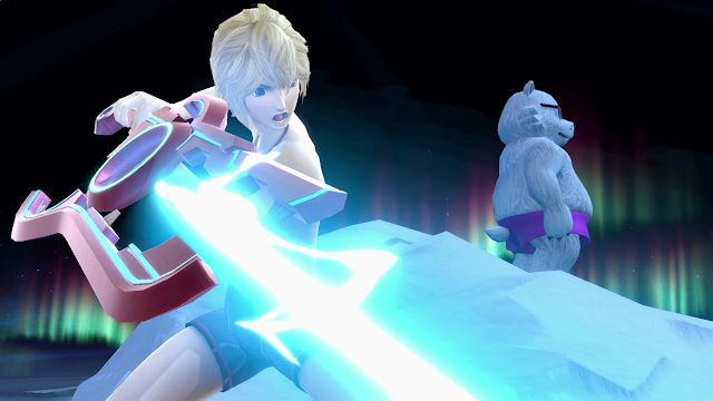 Super Smash Bros. Ultimate Shulk Polar Bear