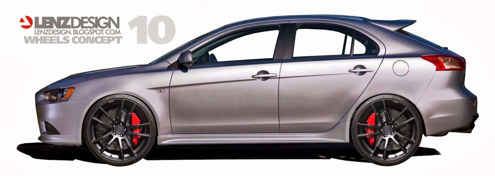 new cars : mitsubishi lancer x sportback lenzdesign performance