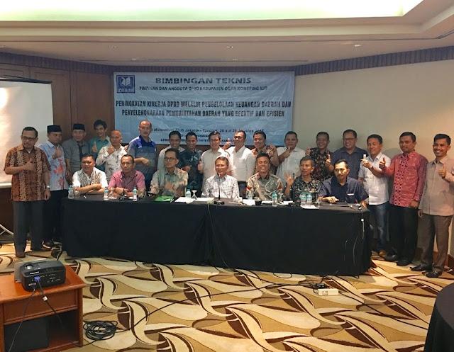 DPRD OKI Diklat Barang & Jasa di Jakarta