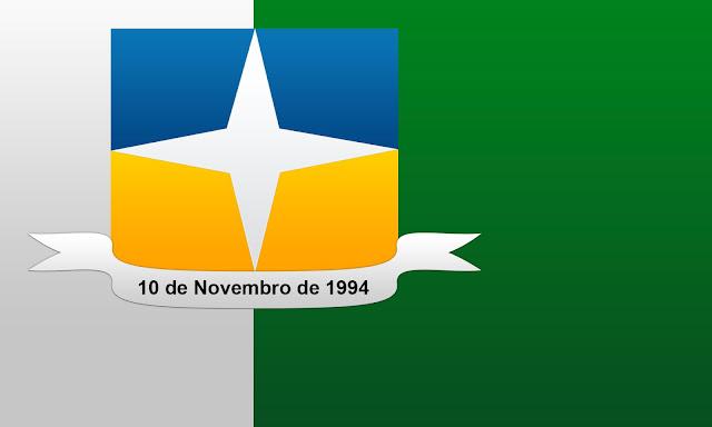 Bandeira de Davinopolis em cores degrade segunda versão