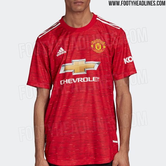 Manchester United 20 21 Home Kit Released Debut Tomorrow Footy Headlines