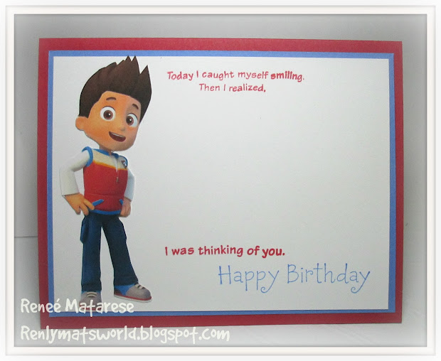 PAW Patrol Happy 3rd Birthday Card
