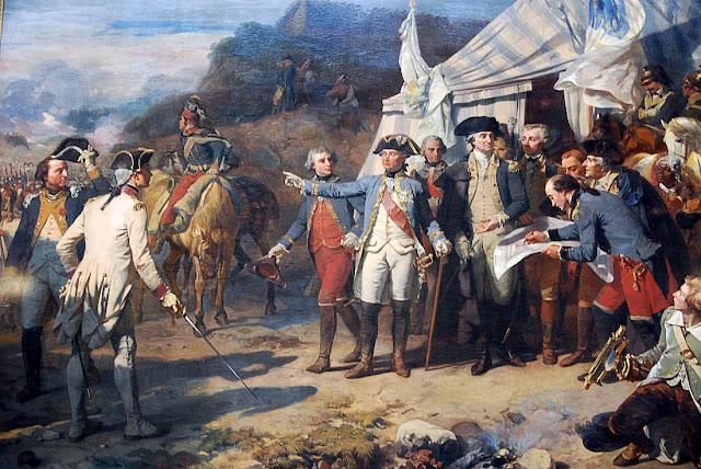 General Washington and Count de Rochambeau