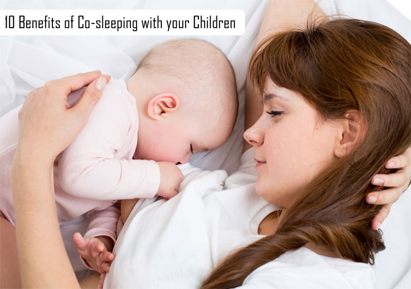 Benefits of Co-sleeping with your Children
