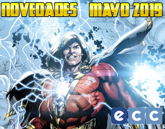 ECC Ediciones: Novedades Extra de Mayo 2019