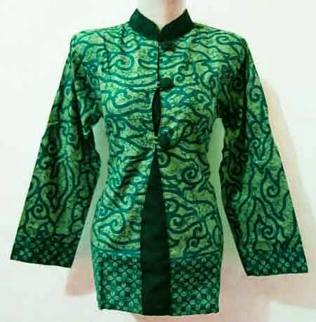 New Model Baju Batik Kerja Wanita Trendy