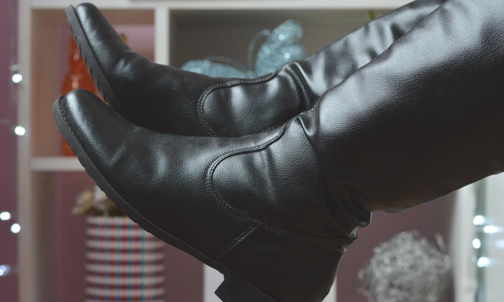 tumblr bota cano longo efeito bokeh