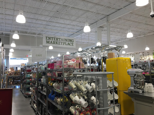 Entertaining section of Homesense