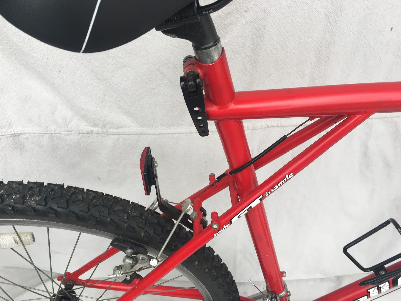 1995 Red GT Outpost Trail Mountain Bike 26\