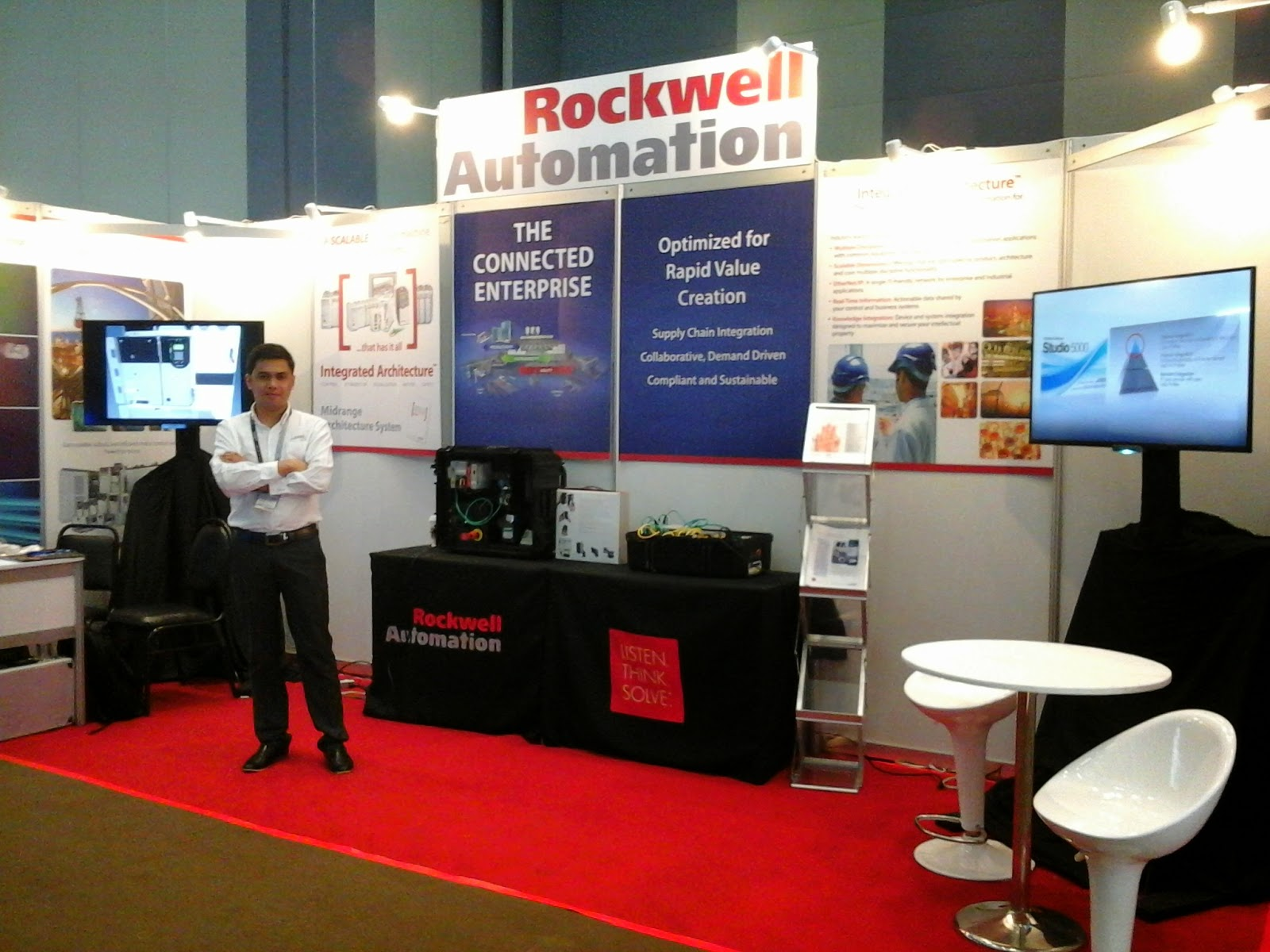 Rockwell Automation Exhibit Booth