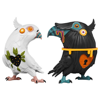 Lovebirds Polystone Figures by Dulk x Mighty Jaxx