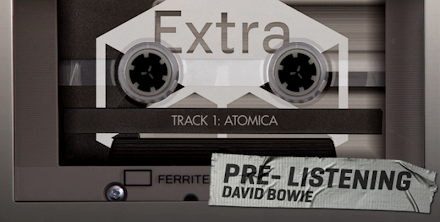 David Bowie The Next Day Extra EP | Komplette EP im Pre-Listening ( Stream )