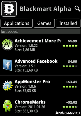 Best black market android app of all time get apps games ebooks.