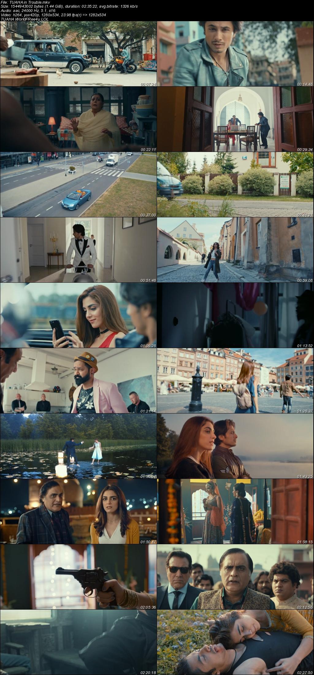 Screen Shot Of Teefa in Trouble  2018 Full Movie Free Download HD 720P Watch Online