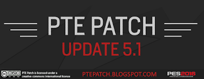 [PES16] PTE Patch Update 5.1 - RELEASED 17/04/2016