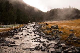 Agua valle de Gaube