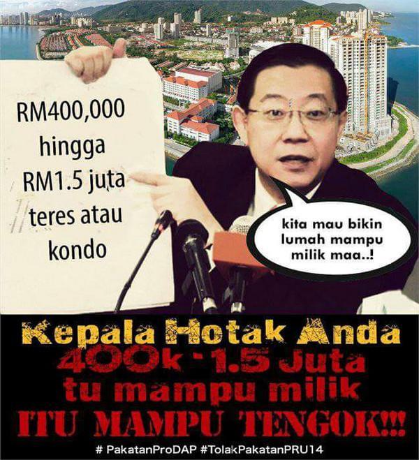 Rumah Mampu Milik DAP -RM1.5 juta