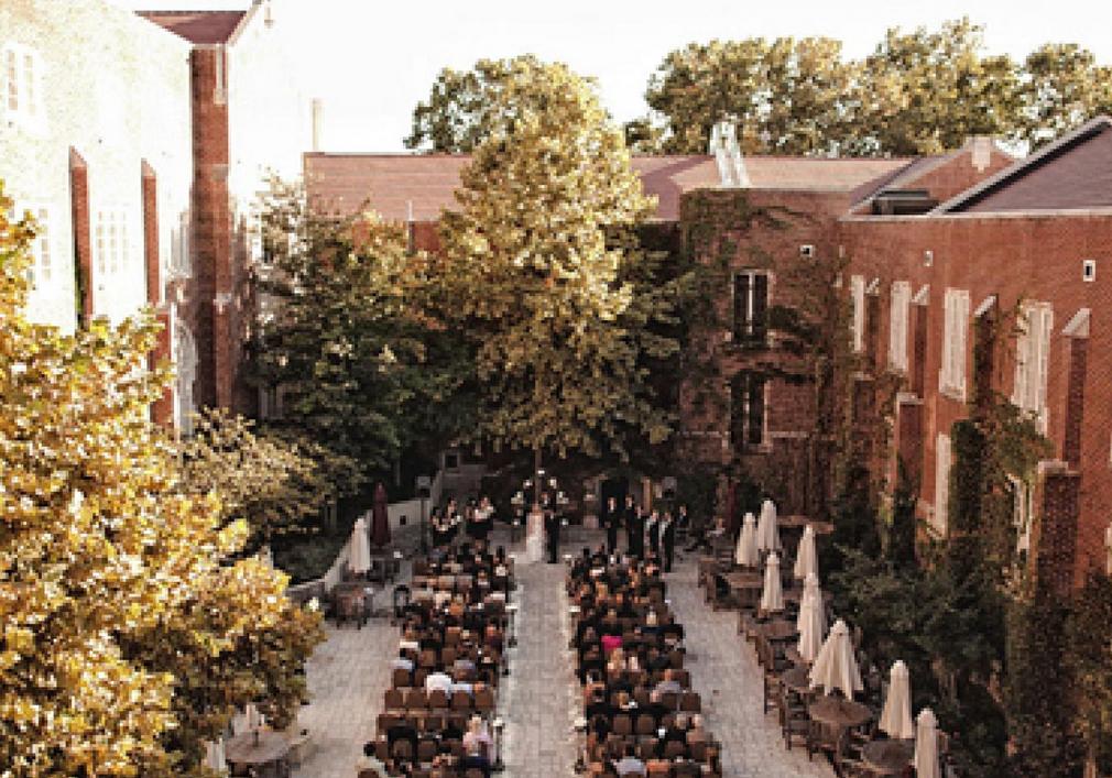 The University of Oklahoma Memorial Union Wedding Venue