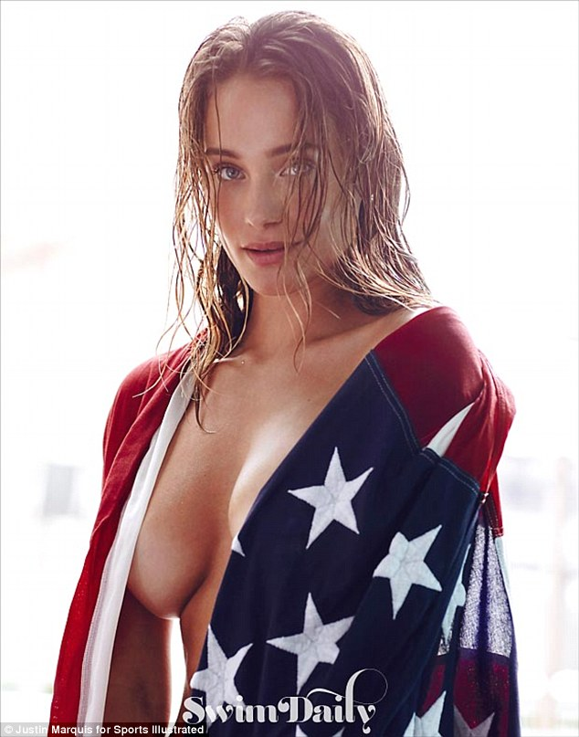 Hannah Davis is Independence Day sexy with Swimsuit Daily