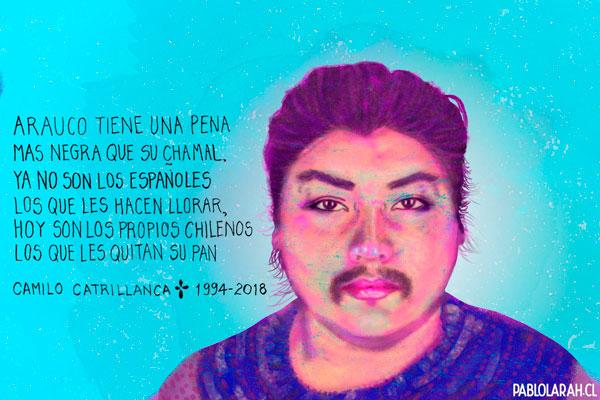 Illustration,Camilo Carillanca, Pablo Lara H