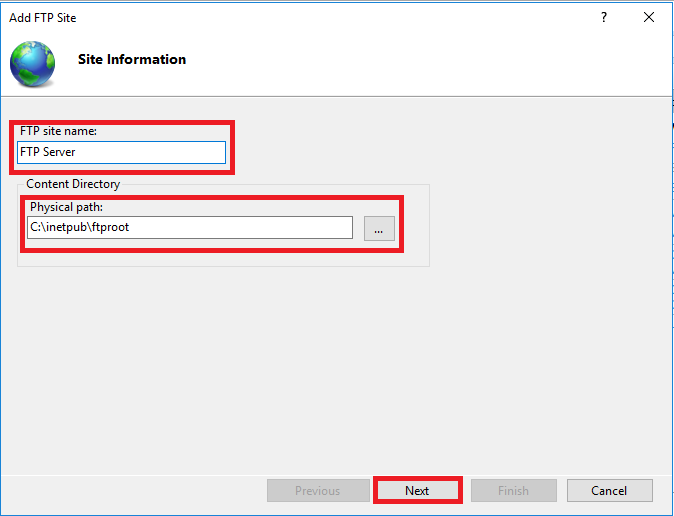How to Configure FTP Server on Windows Server 2016 - Techpanther